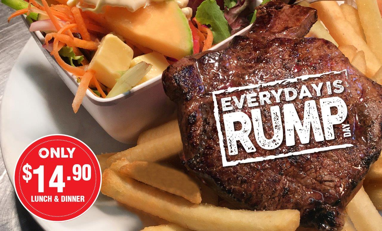Everyday Rump Special at Gowrie Road Hotel