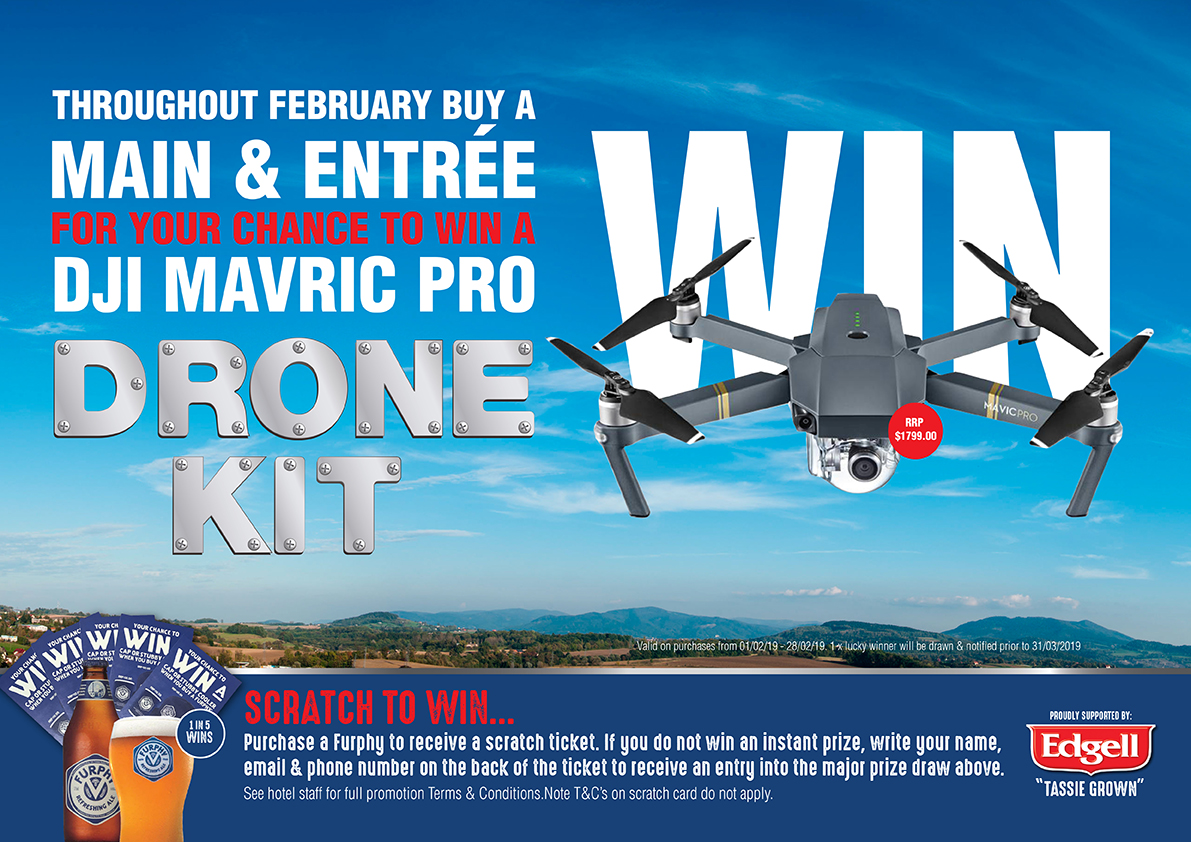 February Drone Competition - Gowrie Road Hotel