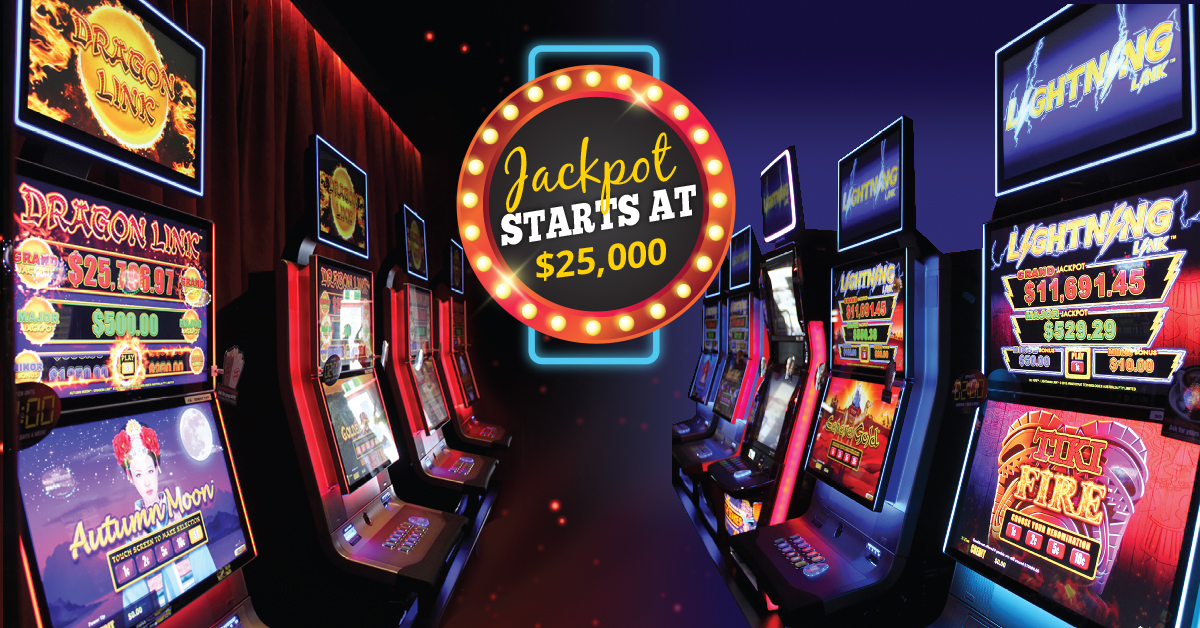 Gaming Jackpot at Gowrie Road Hotel