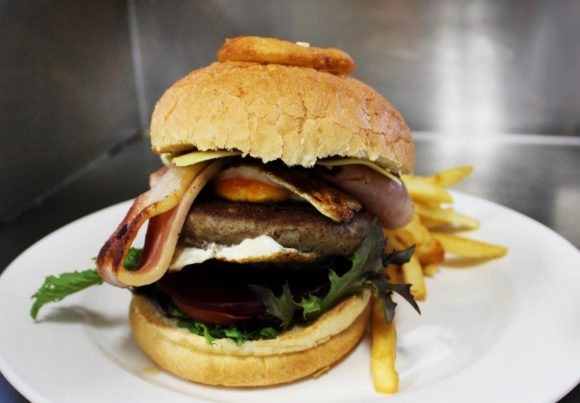 Gowrie Road Hotel Restaurant Menu - Burger
