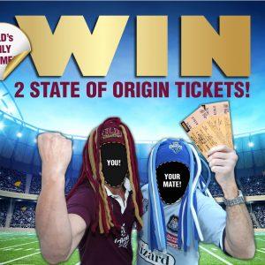 WIN State of Origin Tickets