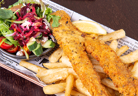 Gowrie Road Hotel Fish & Chips