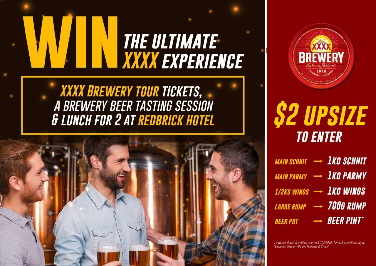 WIN the Ultimate XXXX Experience at Gowrie Road Hotel
