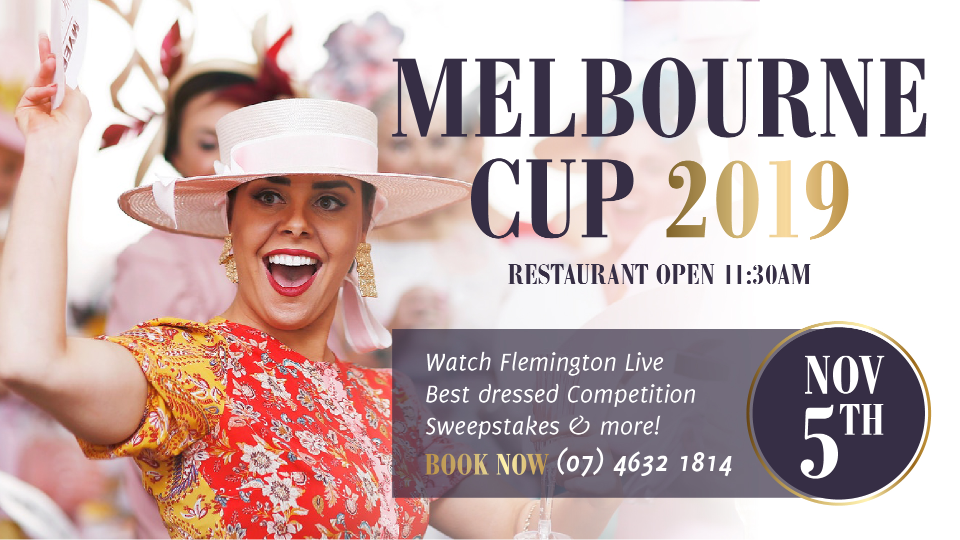 Melbourne Cup 2019 at Gowrie Road Hotel